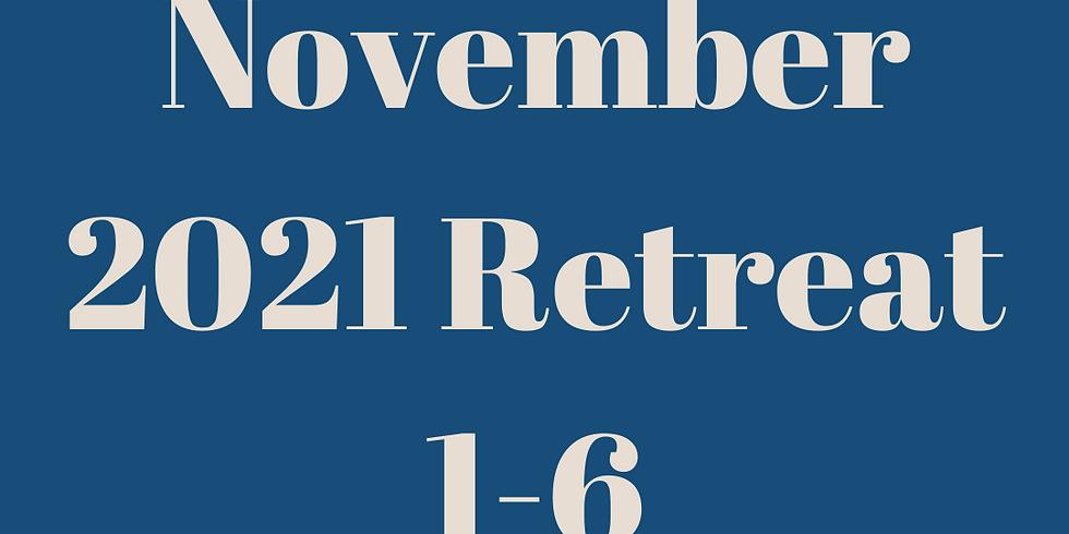 November 2021 Retreat
