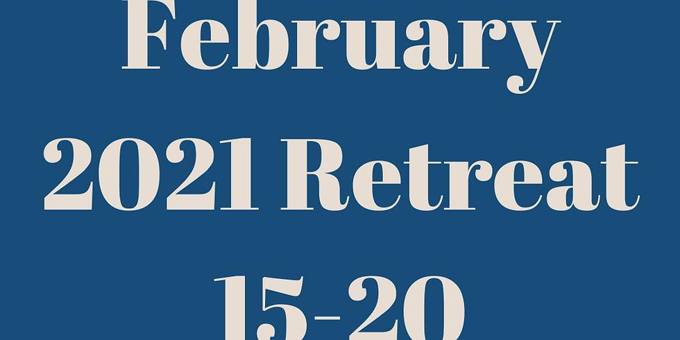 February 2021 Retreat