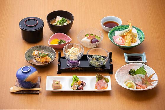 くにさき神仏料理1,500円(税別)コース
