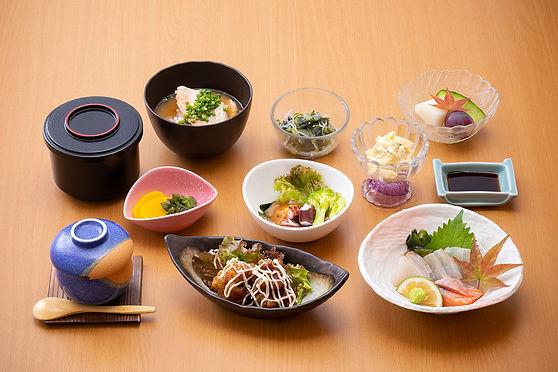 くにさき神仏料理1,000円(税別)コース