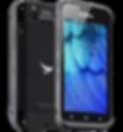 Bluebird EF501/EF501R Rugged Handhelds Side View