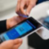 Poynt payment terminal closeup
