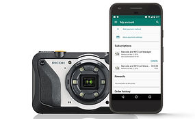 G900SE camera and handheld with Data List Manager Softwar