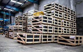 Boxes of Inventory in Warehouse