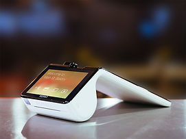 Poynt Payment Terminal on Counter