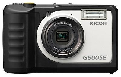 Ricoh G800SE Rugged Camera Front View