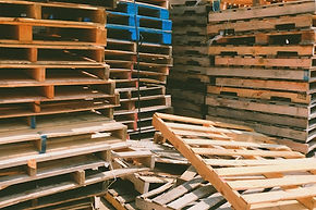Wooden Stack of Pallets