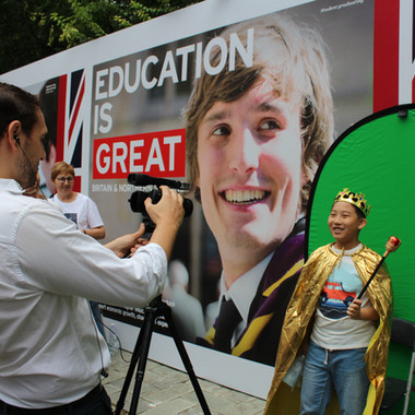 British Embassy Open Day Education Zone