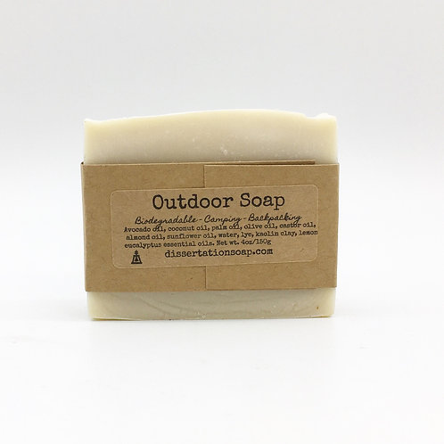 Outdoor Soap, Lemon Eucalyptus