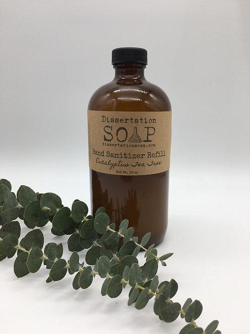 Hand Sanitizer Refill for Spray Bottles, 16oz