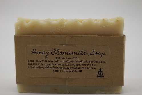 Honey chamomile face and body soap