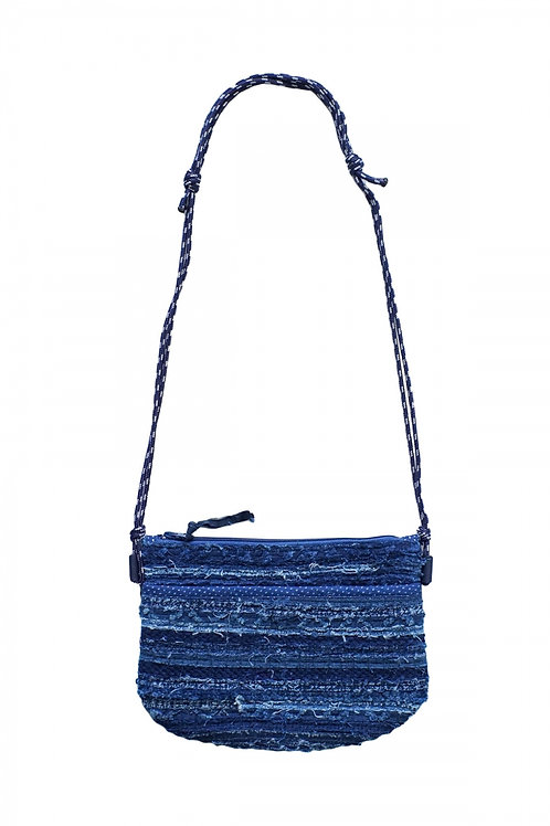 【PORTER CLASSIC】HA GI RE MINI SHOULDER BAG - BLUE