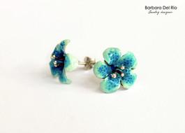 Fiore Tropicale Azzurro