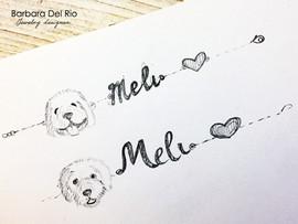 """Disegno bracciale """"Meli"""""""
