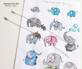 Bracciale Elefante