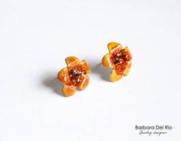 Fiori Tropicali Giallo/Arancio