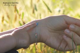 bracciale pesci_indossato2_Barbara Del R