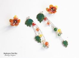 Fiori Tropicali Giallo/Arancio 2in1