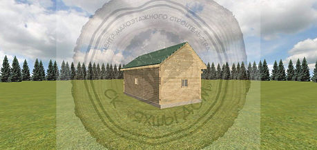 Дачный дом с баней 6х3 Казань