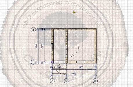 Строительство бани 3х2,3 из бруса в Челнах