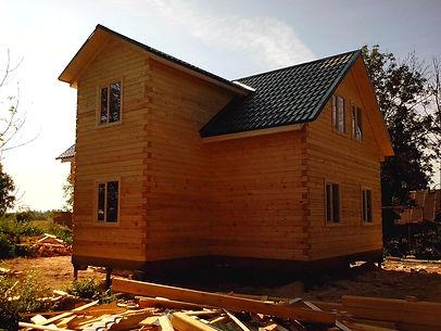 Построить дом из бруса в Казани