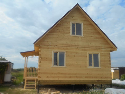 Строительство брусковых домов в Казани
