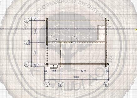 Дачные дома из профиированного бруса 6х8 под ключ Казань