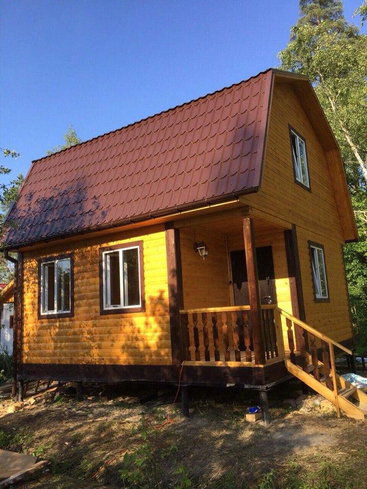 Недорогой дачный дом в Казани