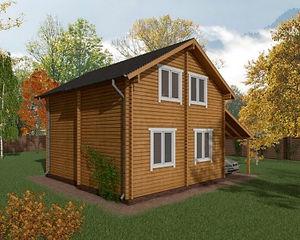 Строительство домов из бруса под ключ в Казани