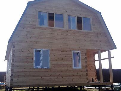 Строительство брусовых домов под ключ Казань