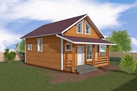 Бюджетный дом для молодой семьи
