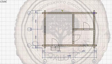 Купить баню 6х4 для дачи из профилированного бруса недорого в Казани.