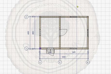 Дом из бруса 6х4 Набережные Челны