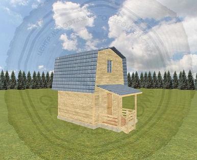 Строительство дачного дома под ключ в Казани
