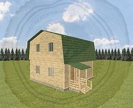 Каркасный дом под ключ в Казани