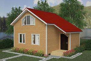 Дома из бруса для сезонного и постоянного проживания