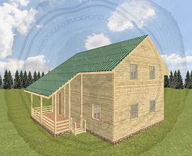 Строительство каркасных домов в Казани