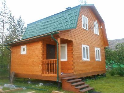 Цены на брусковые дома Казань