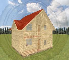 Каркасный дом под ключ в Набережных Челнах