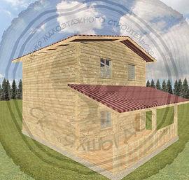 Дачные дома под ключ Набережные Челны