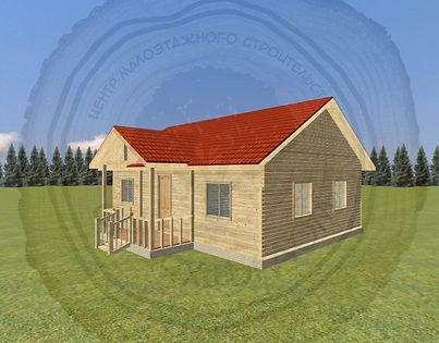 Изготовление дачных домиков 6х8