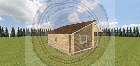 Строительство садового домика из профилированного бруса под ключ Казань