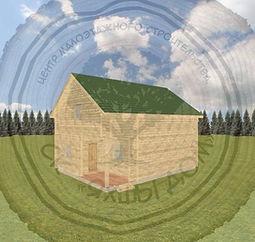 Дома из профилированного бруса для дачи Челны