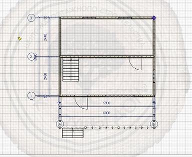 Построить дачный дом 5х6 в Казани.