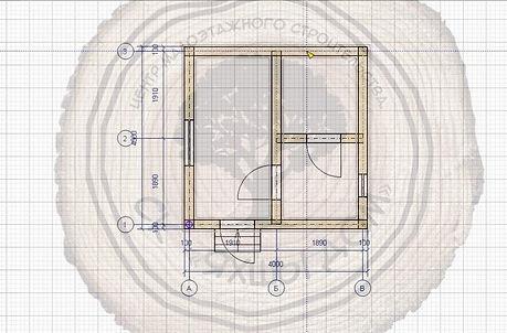 Примеры бань 4х4 из рубленного бревна Казань