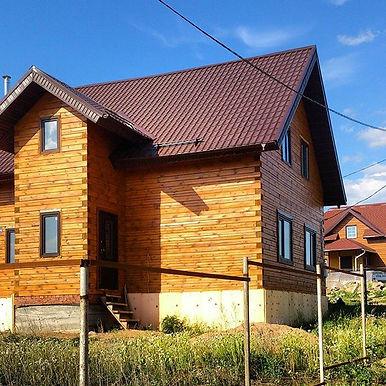 Дома из бруса в Казани