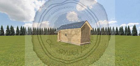 Построить баню 6х2,3 на даче под ключ цена Казань
