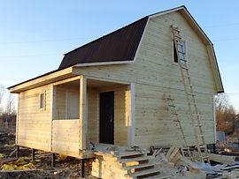 Недорогие дачные дома под ключ каркасные Нижнекамск