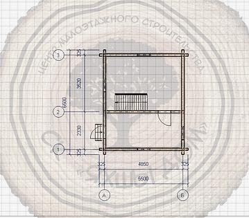 Летний домик 5х6 из профилированного бруса для дчи под ключ недорого Казань