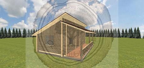 Строительство домов из профилированного бруса для дачи Казань